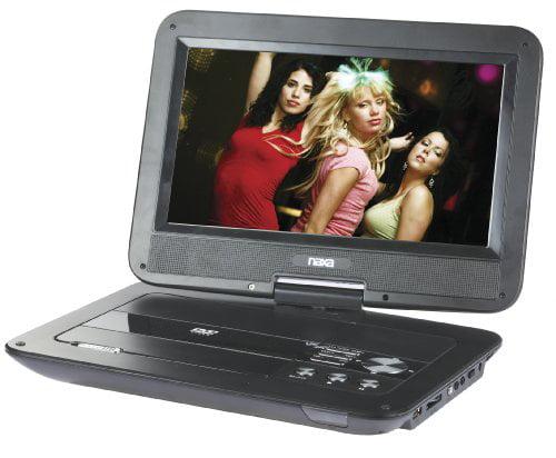 NAXA NAXNPD1003G NAXA 10 Inch TFT LCD Swivel-Screen Porta...
