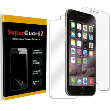 "[4-Pack] For iPhone 7 4.7"" - SuperGuardZ Ultra Clear FULL BODY [Front + Back] Screen Protector, Anti-Scratch, Anti-Bubble"