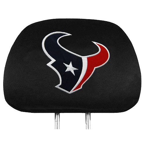 Houston Texans 2-Pack Headrest Covers - No Size