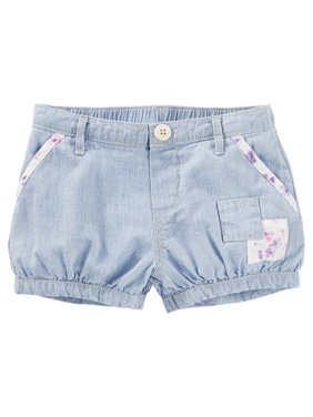 fda9c7361dad Product Image OshKosh B gosh Little Girls  Hickory Striped Patchwork Bubble  Shorts