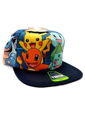 a8ff6df509397f Product Image Pokemon Character Sublimation Youth Snapback Baseball Cap.  Bioworld
