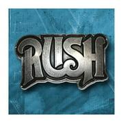 Rush Men's Belt Buckle Silver