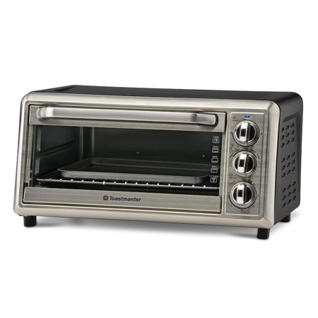 Toastmaster 6-Slice Toaster Oven (Black Infrared Oven)