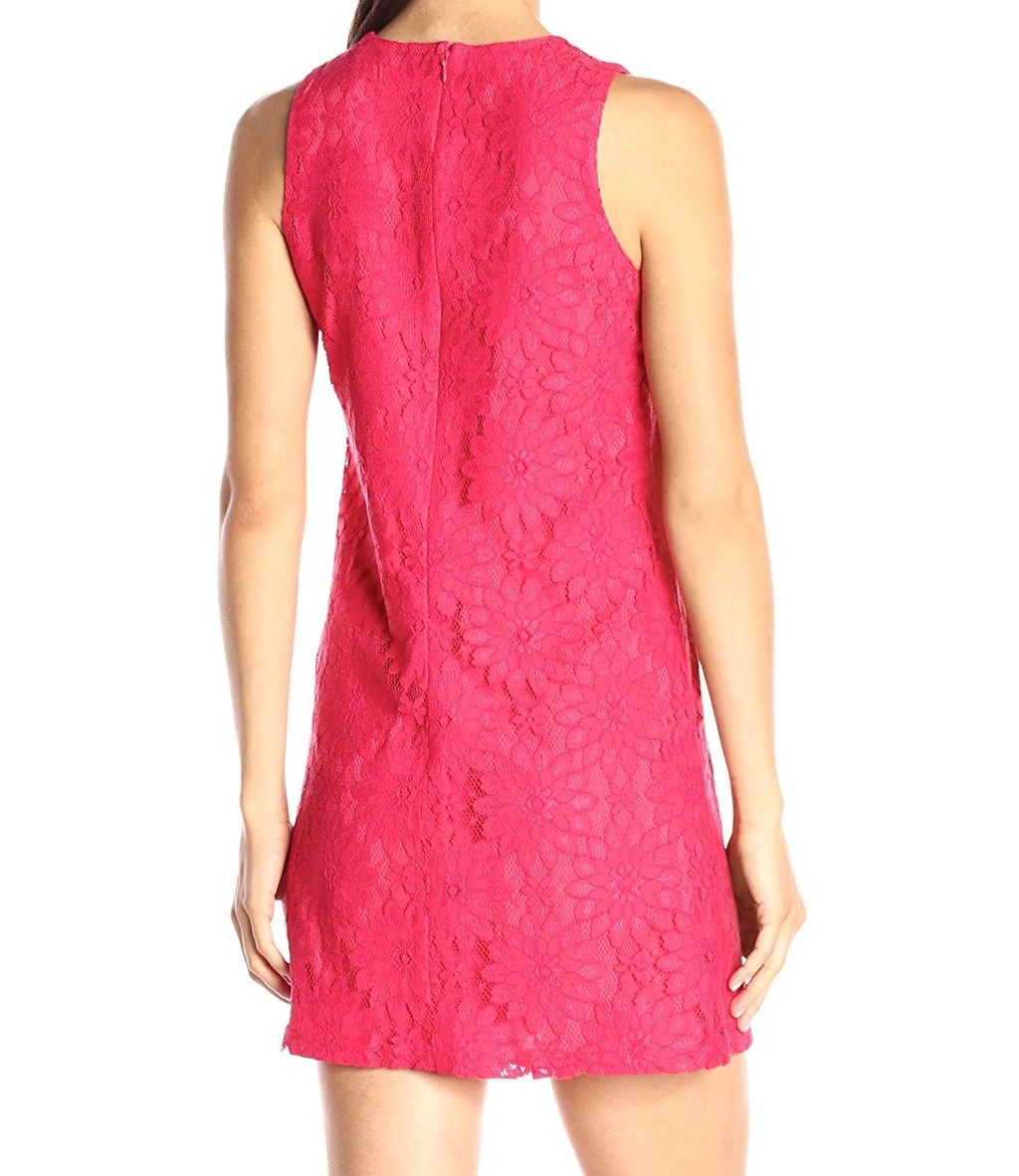 Next Women`s Dress Lace Pink Size 6