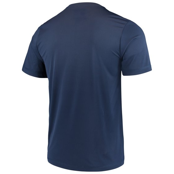 93396fa2dff5 Men's Majestic Navy Cleveland Indians Big Athletic TX3 Cool Fabric T-Shirt  - Walmart.com