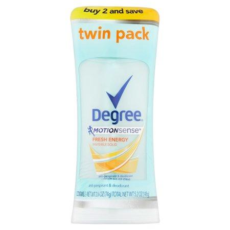 Degree Women Motionsense Antiperspirant Deodorant Fresh Energy 2 6 Oz  Twin Pack