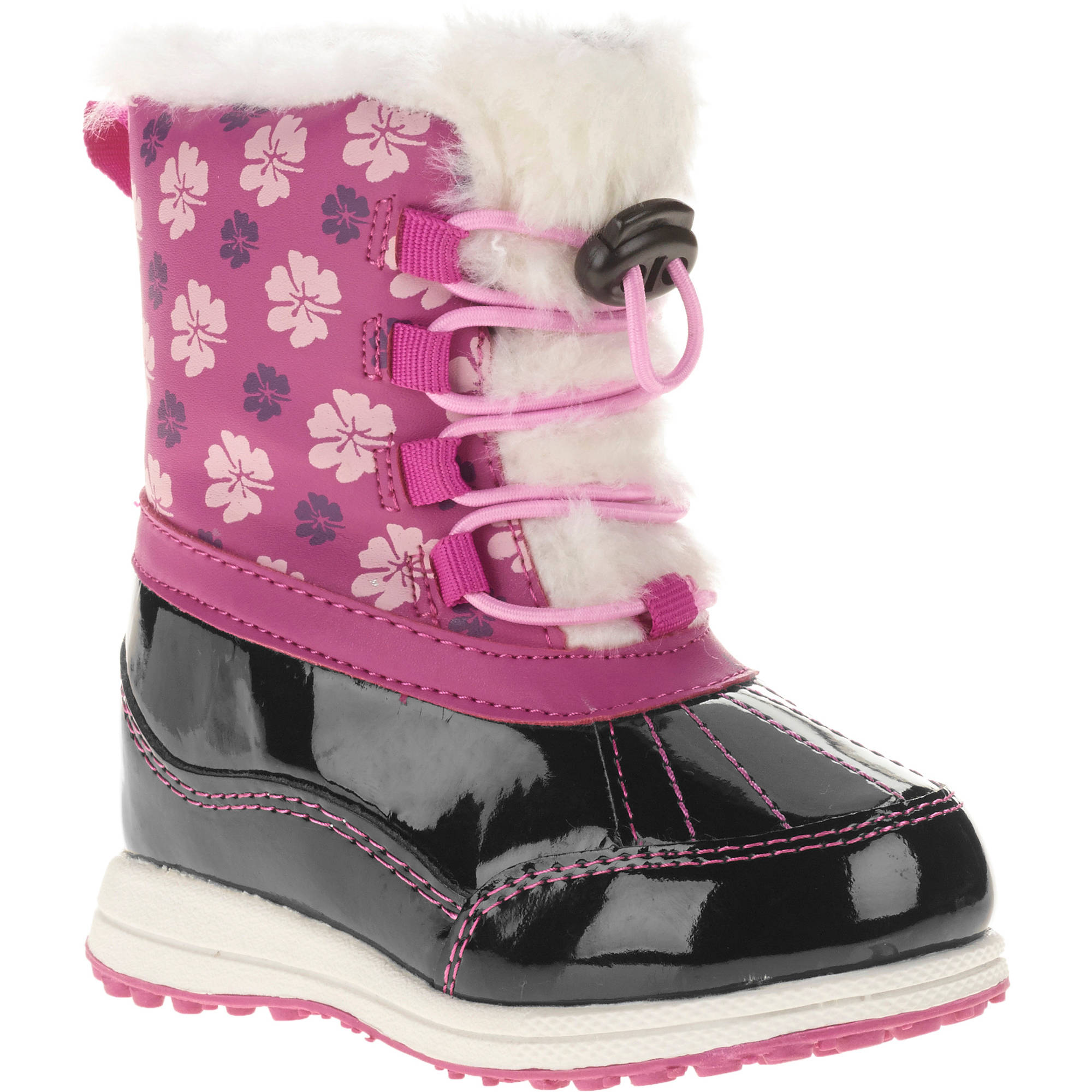 Ozark Trail Toddler Girl's Classic Winter Boot - Walmart.com