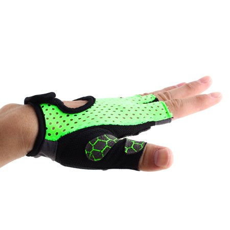 BOILDEG Authorized Sports Fitness Breathable Palm Support Gloves Green L Pair - image 5 de 6