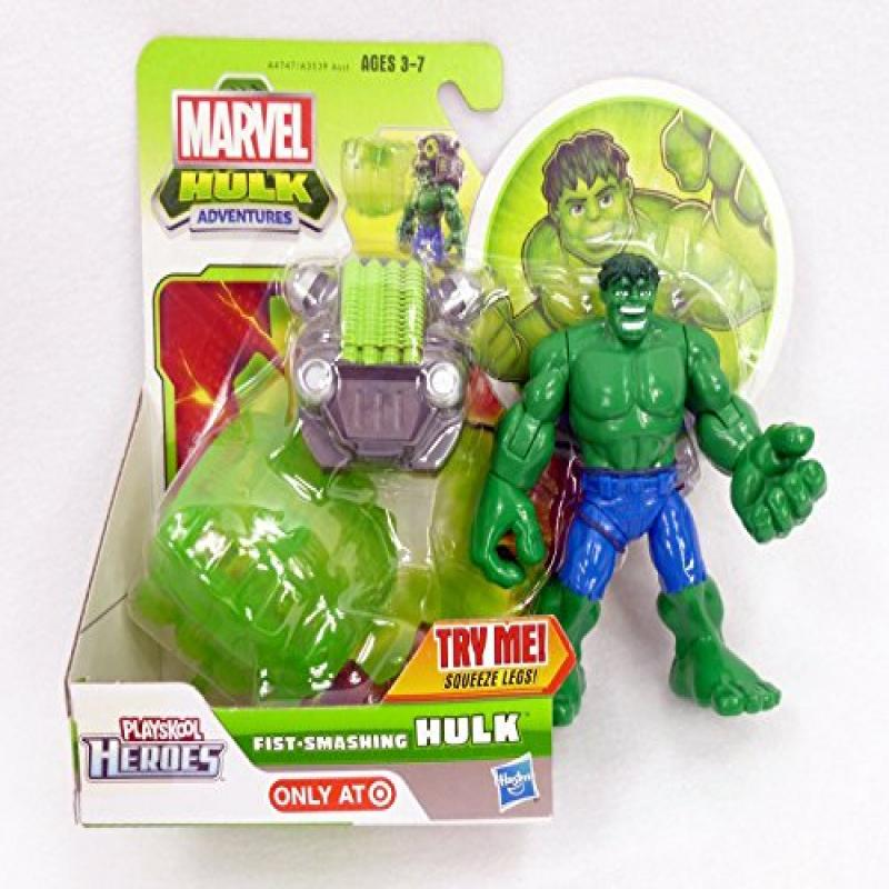 Marvel Playskool Super Hero Adventures Fist-Smashing Hulk by