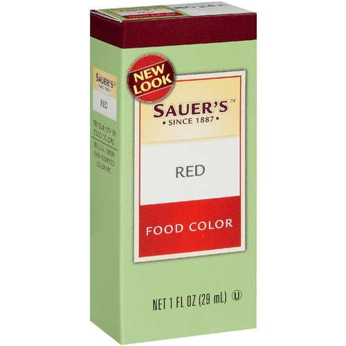 Sauer's: Red Food Color, 1 Oz