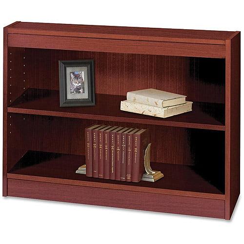 Safco 2-Shelf Square-Edge Bookcase