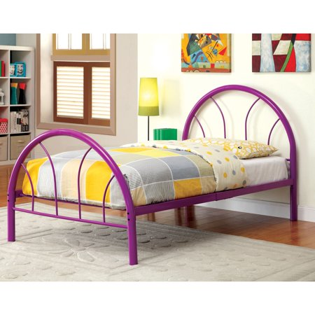 Furniture of America Linden Contemporary Full Double Arch Bed by FOA