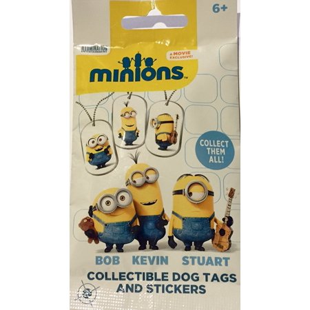Minions Collectible Dog Tags and Stickers Minions Collectible Dog Tags and StickersMinions Collectible Dog Tags and Stickers