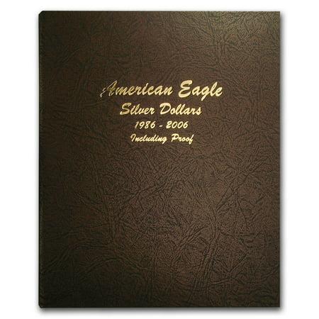 Album #8181 - American Eagle Silver Dollars (w/Proofs) (Silver Eagle Dollar)