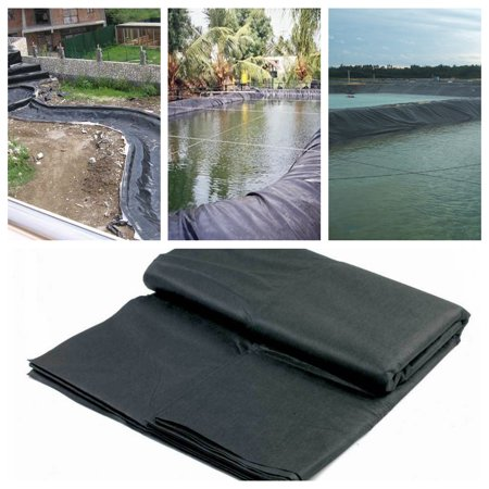 On Clearance Durable Fish Pond Liner Gardens & Patio Pools PE  Membrane Reinforced Landscaping  8-33 FT