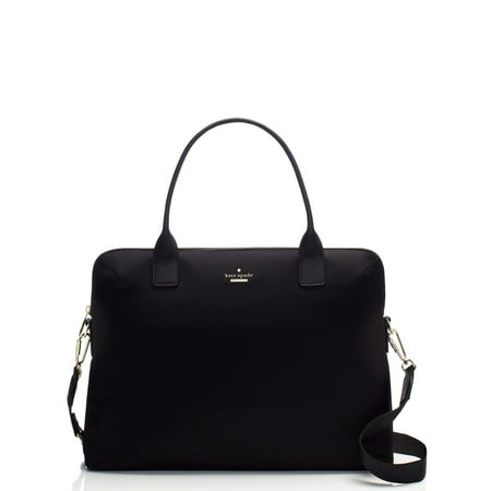 Kate Spade Daveney Classic Nylon Satchel - Black