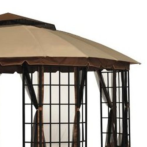 Garden Winds Replacement Canopy Top for Sutton Gazebo - Riplock 350 - Walmart.com  sc 1 st  Walmart & Garden Winds Replacement Canopy Top for Sutton Gazebo - Riplock ...