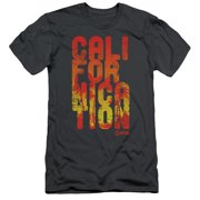 Californication - Cali Type - Slim Fit Short Sleeve Shirt - Small