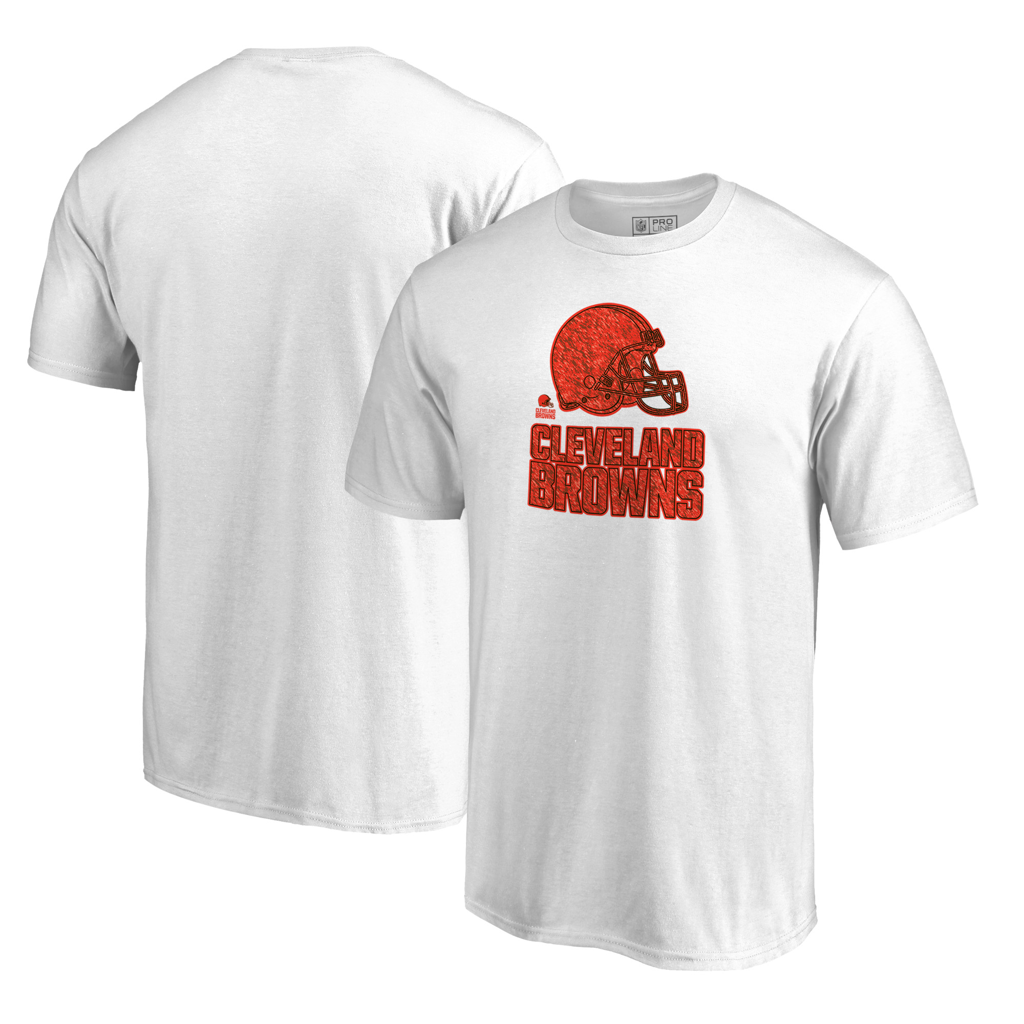 Cleveland Browns NFL Pro Line by Fanatics Branded Training Camp Hookup T-Shirt - White