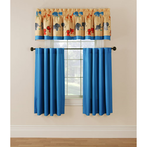 Firefend Printed Firefend Kids Flame Retardant Thermal Double Layered Valance