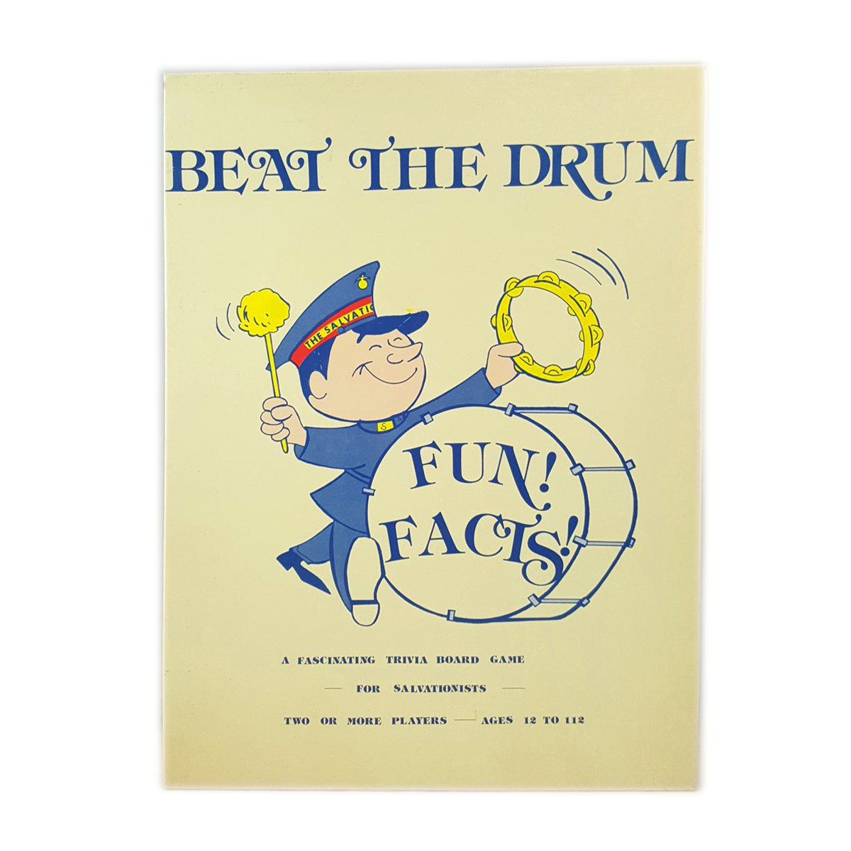 Beat The Drum Religious Trivia Game by Bates Printing