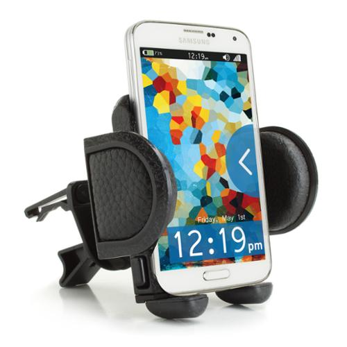 USA Gear Universal Air Vent Phone Mount Holder Cradle with Adjustable Display & 360 Degree Rotation - Works With Samsung Galaxy S6 , Motorola Droid Turbo , Apple iPhone 6 & More Smartphones