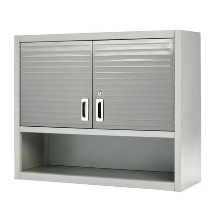 Seville Clics Ultrahd Wall Cabinet With Open Shelf
