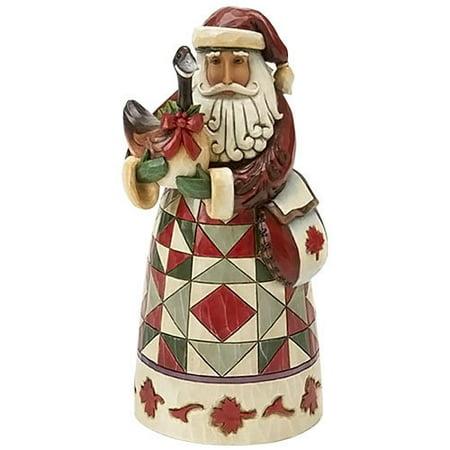Around Santa (Jim Shore Around the World Canadian Santa Christmas Figurine 4017648 HWC New)