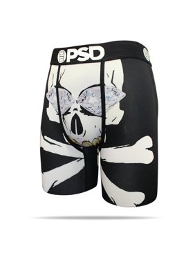 Product Image PSD Underwear Men s Skullz Boxer Brief 31811020 Black d37cf15c34d