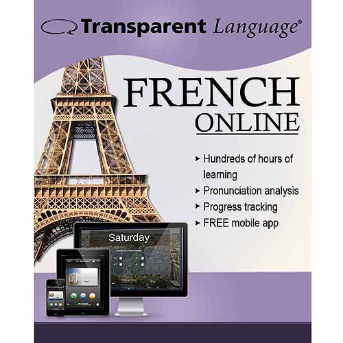 Transparent Language Online French (12 Month) (Digital Code)