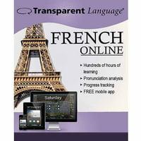 Transparent Language Online French (12 Month) (Digital Code)