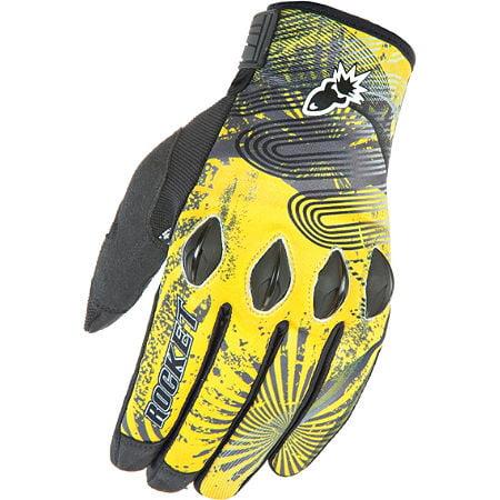 Joe Rocket Rocket Nation 2.0 Gloves Yellow/Black