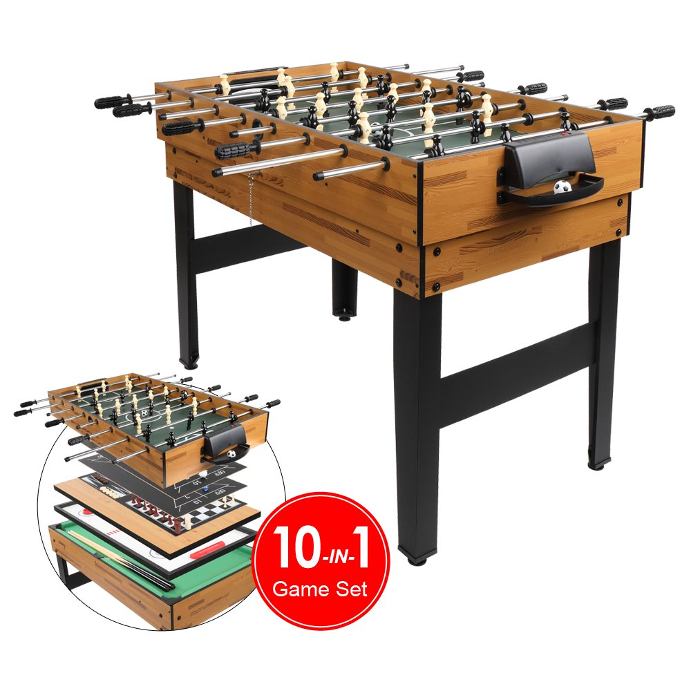 Zimtown 10-in-1 Game Table