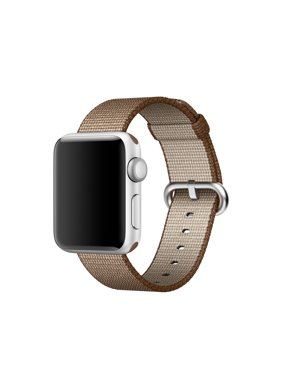 Product Image Refurbished Apple Watch Woven Nylon Band 38mm Toasted Coffee/Caramel MNK42AM/A
