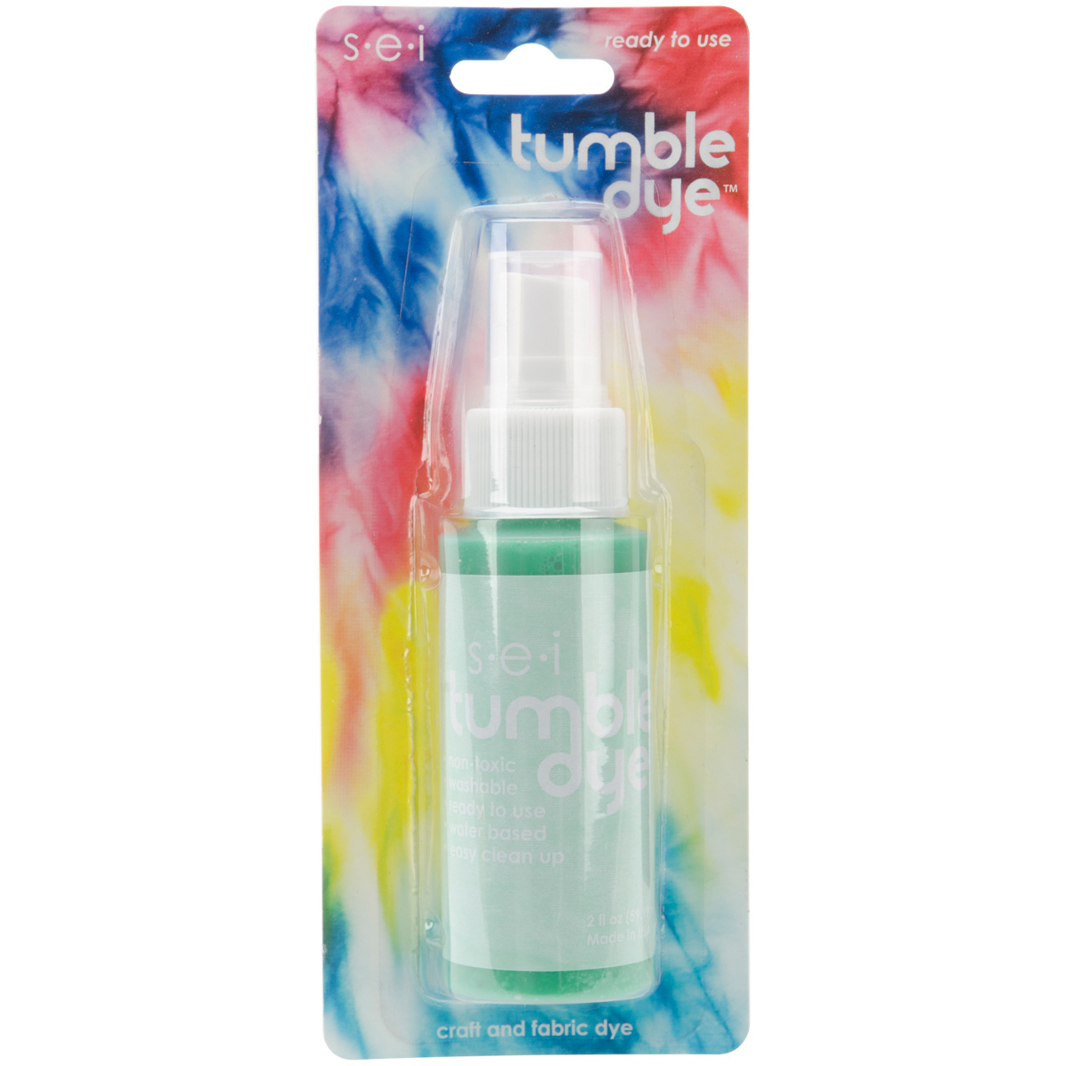 Tumble Dye Craft And Fabric Spray 2 Ounces-Mint
