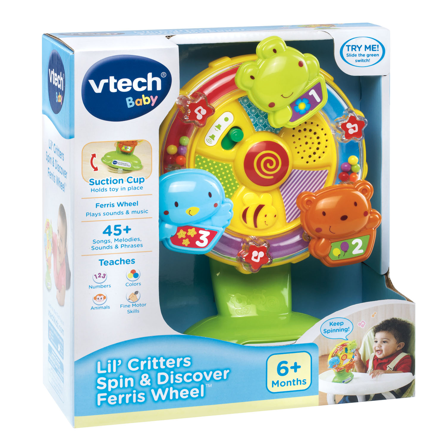 VTech Baby Lil Critters Spin and Discover Ferris Wheel by VTech Baby