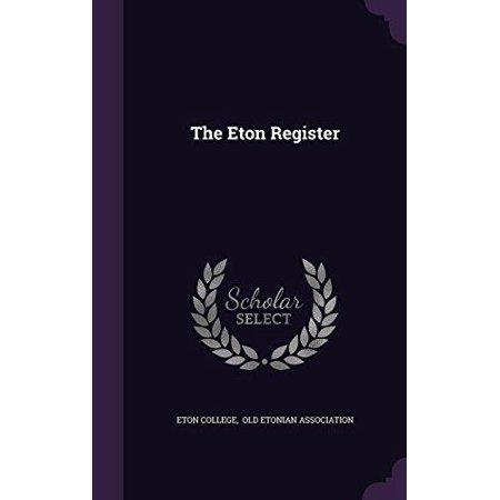 The Eton Register