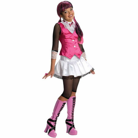 Monster High Draculaura Child Halloween Costume - Draculaura Monster High Halloween Costume