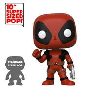 "Funko POP! Marvel: Deadpool - 10"" Deadpool Thumbs Up (Red) - Walmart Exclusive"