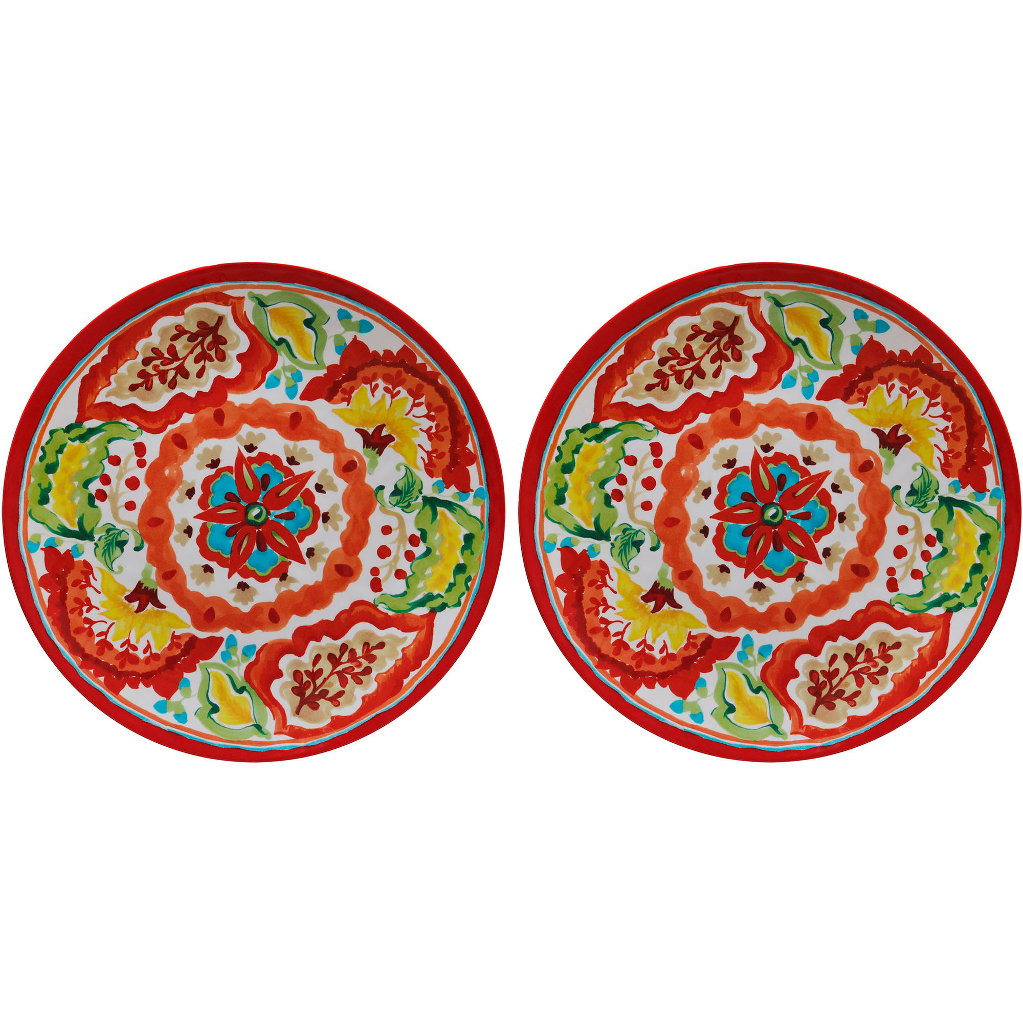 Better Homes and Gardens Print Platter, Set of 2