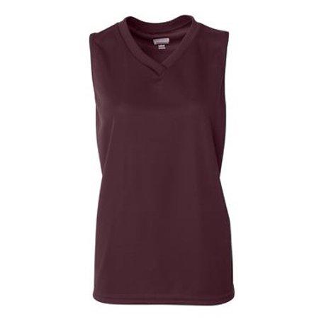 Augusta Youth Wicking Mesh (Augusta Sportswear 525 Practice Uniform Jersey Wicking Mesh Sleeveless Women's)