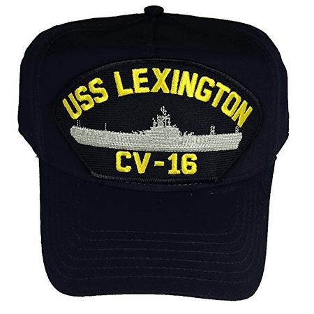 Uss Essex Class - USS LEXINGTON CV-16 HAT USN NAVY SHIP BLUE GHOST ESSEX CLASS AIRCRAFT CARRIER