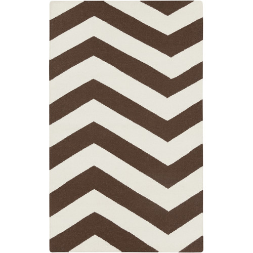 Surya Frontier Chocolate & Ivory Area Rug