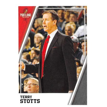 2018-19 Panini NBA Stickers #352 Terry Stotts Portland Trail Blazers Basketball (Terry Baker)