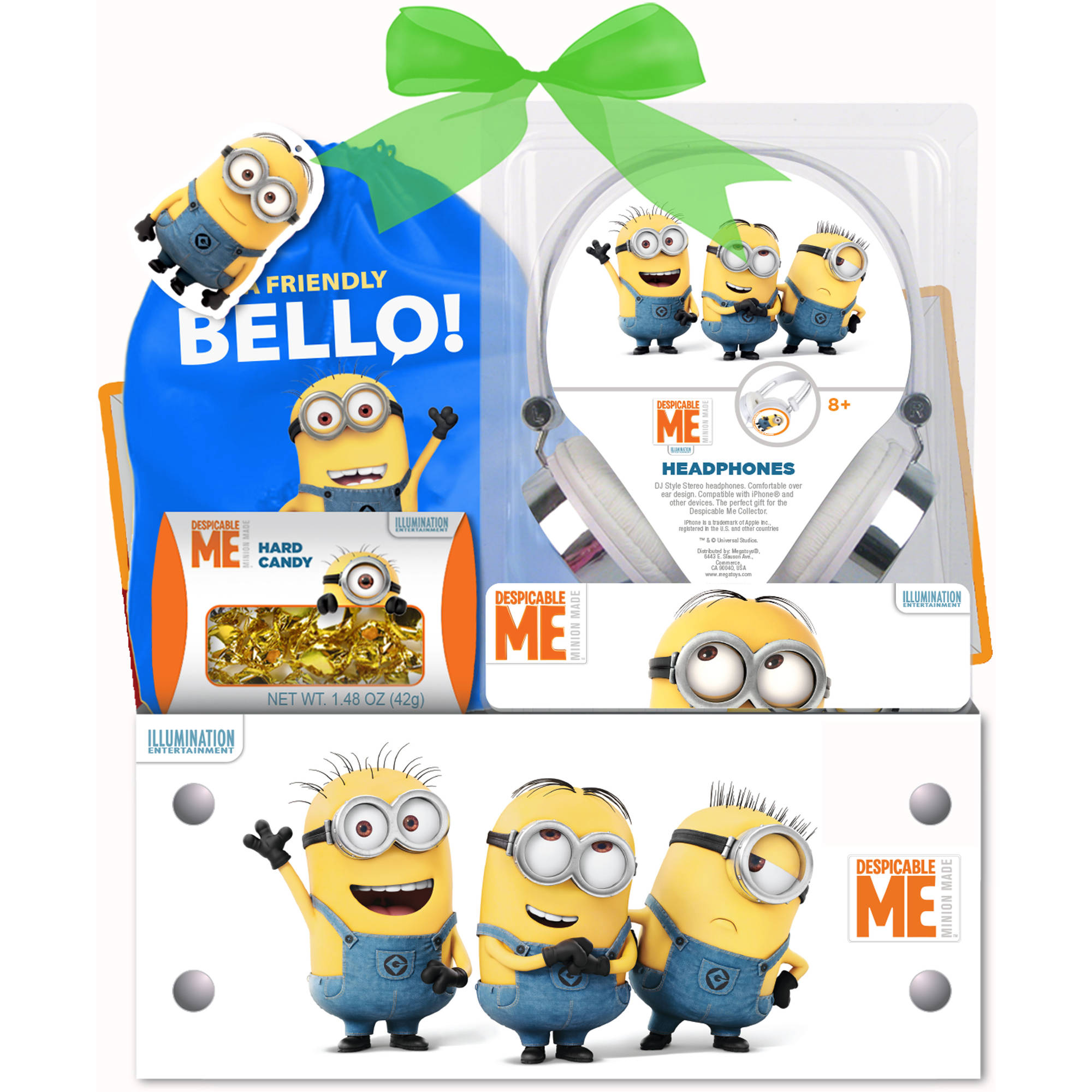 Despicable me 2 headphones easter gift set 3 pc walmart negle Image collections