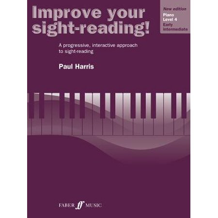 Improve Your Sight-Reading!: Improve Your Sight-Reading! Piano, Level 4: A Progressive, Interactive Approach to Sight-Reading (Paperback)