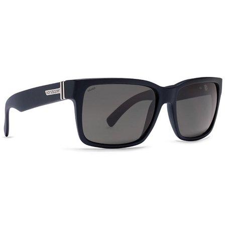 VON ZIPPER ELMORE POLARIZED SUNGLASSES Black Gloss-Vintage Grey Wildlife (Von Zipper Sunglasses For Men)