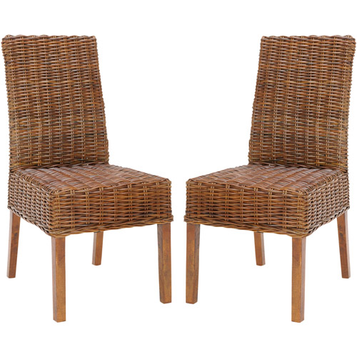 Safavieh Sanibel Rattan Side Chair, Set of 2