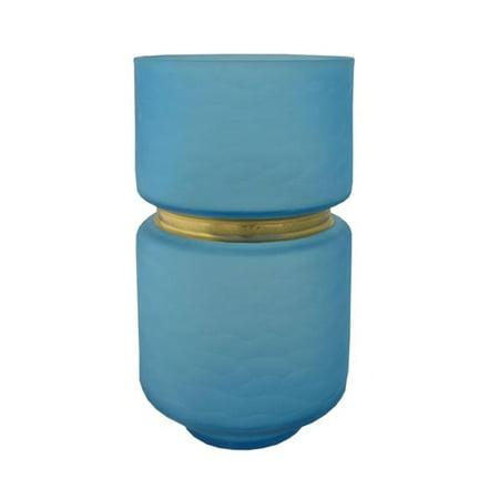 R16 Home Furniture WG-06B Leech Vase, Blue - image 1 of 1