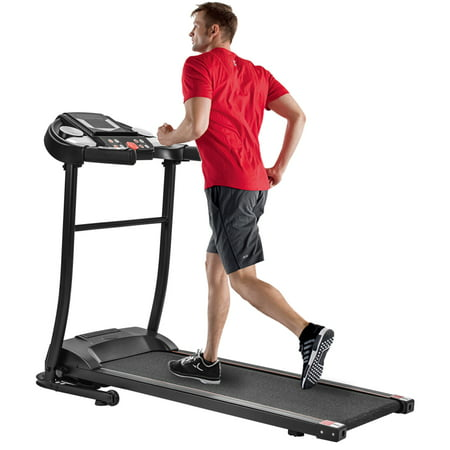 The Power Wear Folding Electric Treadmill with LED Display and Cup Holder, Motorized Running Jogging Machine with 12 Preset Programs, Easy Assembly Fitness Exercise Equipment for Home Gym Office